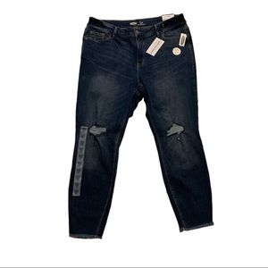 NWT Rockstar Super Skinny High Rise Plus Size Jean
